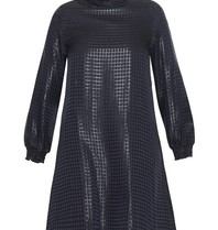 Valentine Gauthier Kleid Eileen Bristol mit dunkelblauem Aufdruck