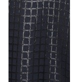 Valentine Gauthier Valentine Gauthier jurk Eileen bristol met print donkerblauw