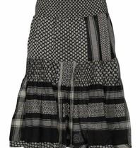 Cecilie Copenhagen Cecilie Copenhagen Aftergold skirt with print black stone