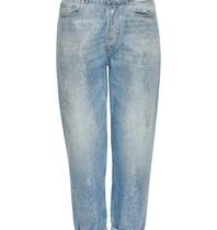 PT05 Loose fit jeans met shimmer details