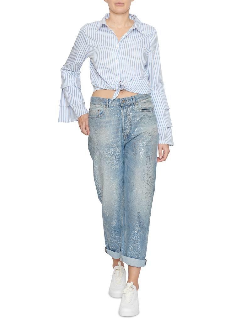 Pt05 PT05 Loose fit jeans met shimmer details