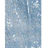 PT05 Loose Fit Jeans mit schimmernden Details