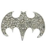 Godert.Me Godert.me Rhinestone batman badges silver