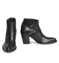 Mexicana Black Baby Sierra laarzen met zilverkleurig detail zwart