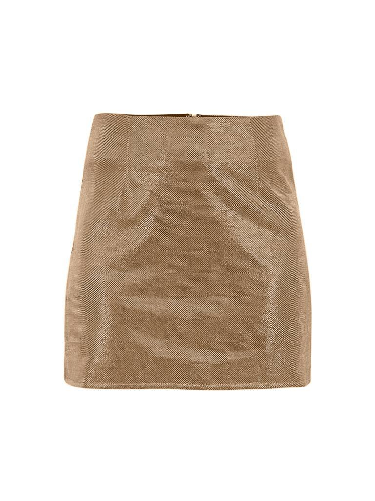 Runaway The Label Runaway the Label Sparkle metallic rok goud
