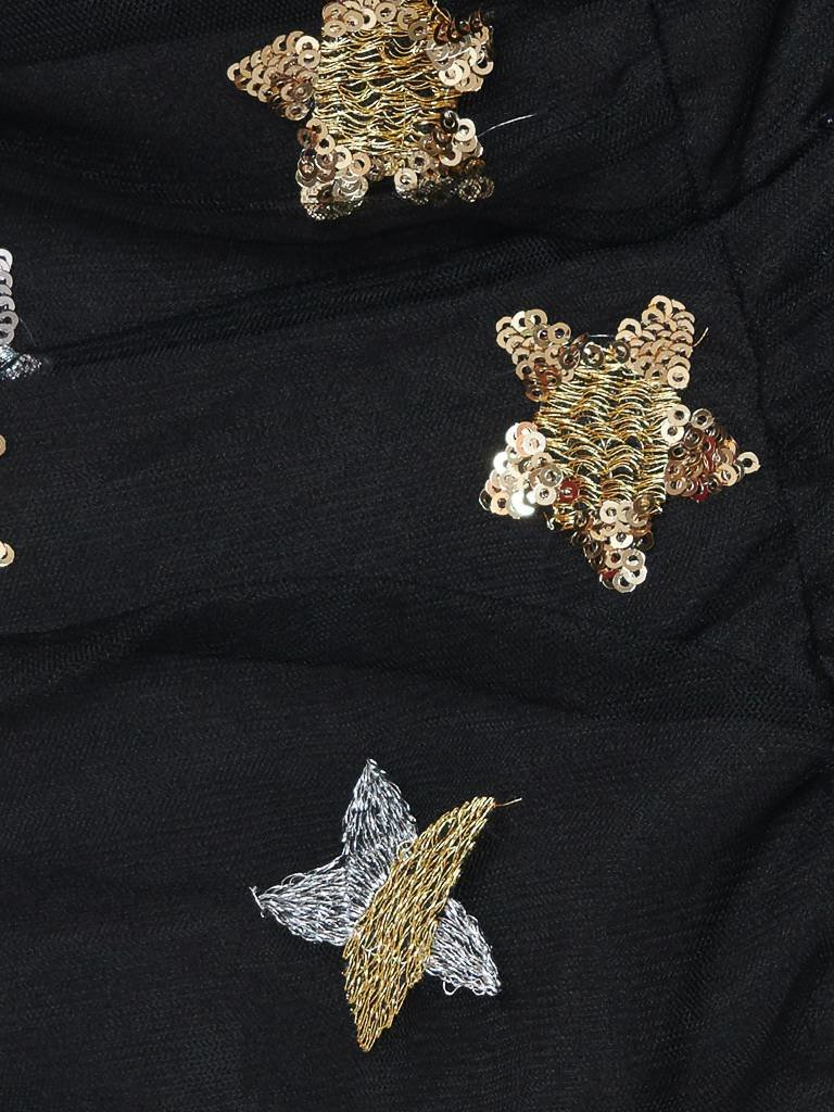 Forever Unique Forever Unique Arden one shoulder jurk met ruffles