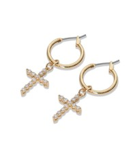 Vanessa Mooney Vanessa Mooney Rita Cross gold earrings