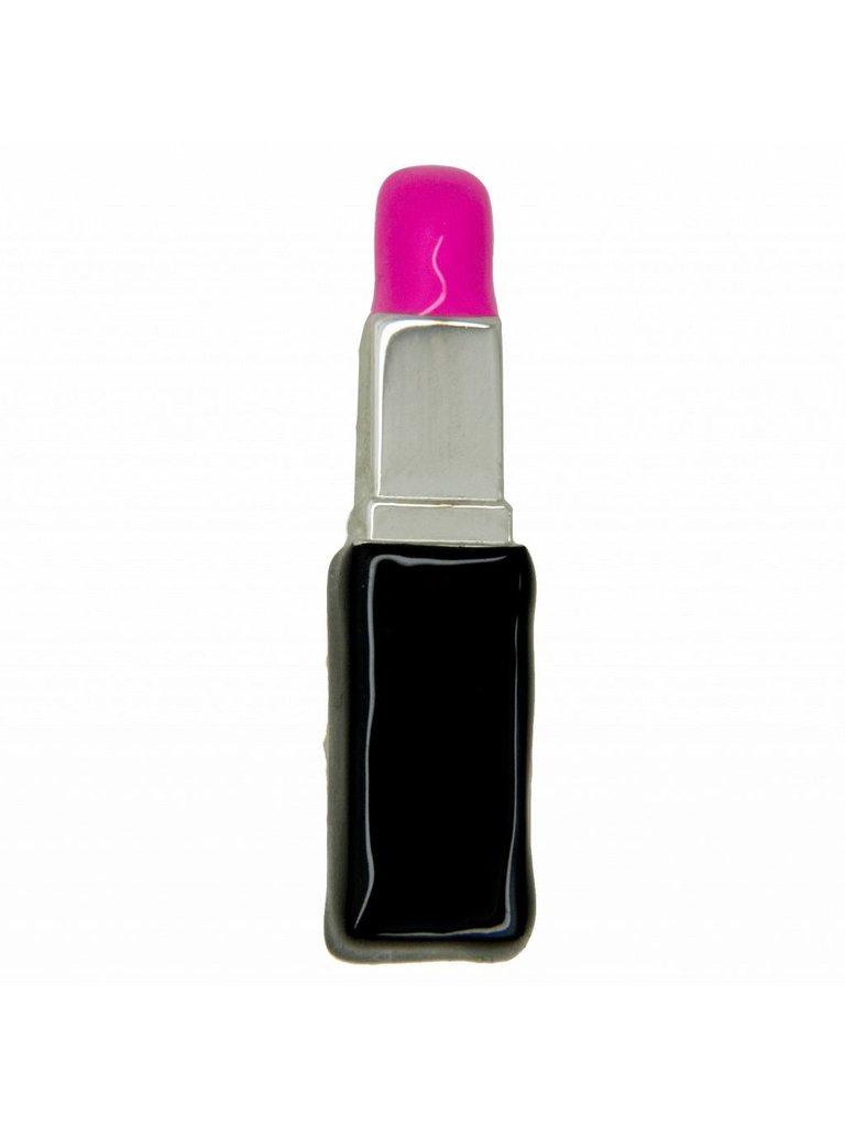 Godert.Me Godert.me 3D lipstick brooch silver
