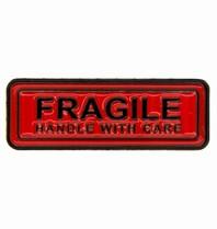Godert.Me Godert.me Fragile pin red