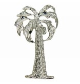 Godert.Me Godert.me palm tree pin zilver