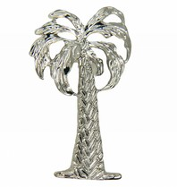 Godert.Me Godert.me palm tree pin silver