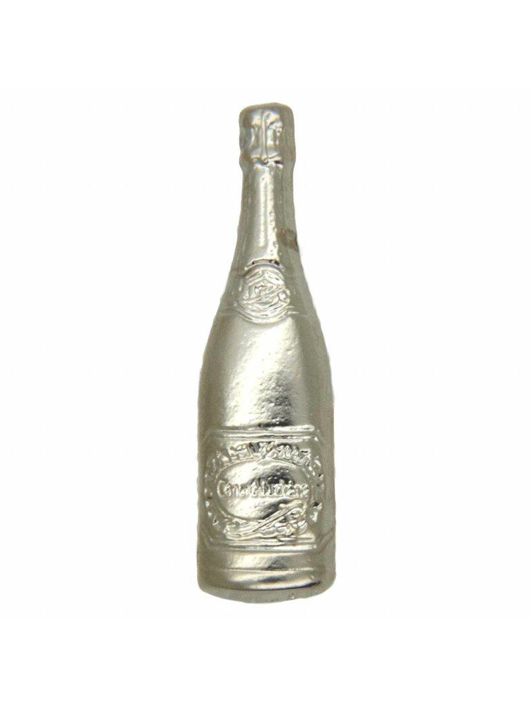 Godert.Me Godert.me Champagne bottle pin zilver