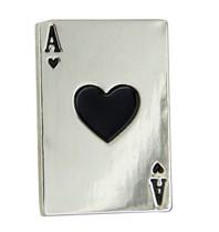 Godert.Me Godert.me heart card pin silver
