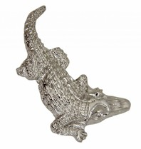Godert.Me Godert.me crocodile pin silver