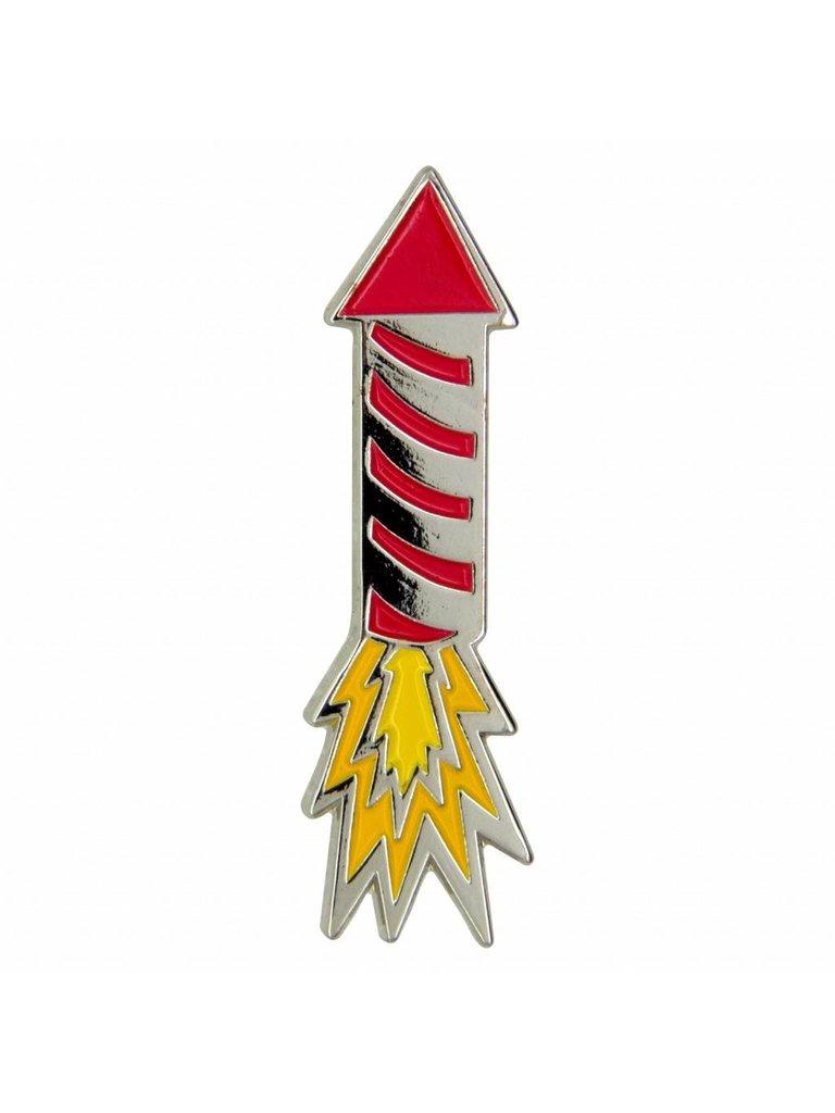 Godert.Mee Godert.me Firecracker pin zilver