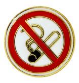 Godert.Me Godert.Me No Smoking pin gold