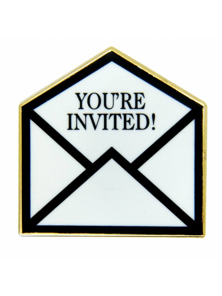 Godert.Me Godert.me You're invited  pin goud