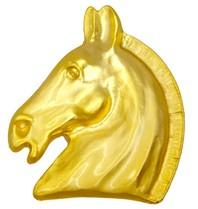 Godert.me Horse-Pin-Gelbgold