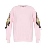 Ragyard Parrot sleeve sweatshirt met ronde hals roze
