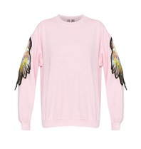 Ragyard Ragyard Parrot sleeve sweatshirt with round neck pink