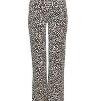 Notes Du Nord Hinweise Du Nord Kayla Jeans mit Leopardenprint