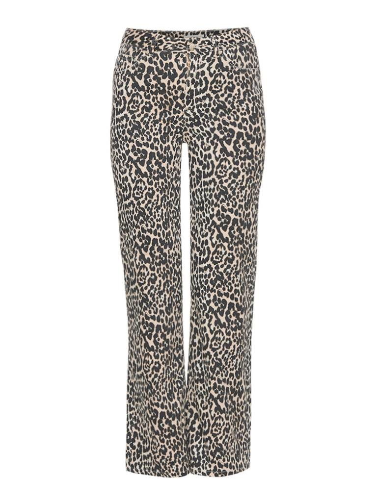 Notes Du Nord Notes Du Nord Kayla jeans with leopard print