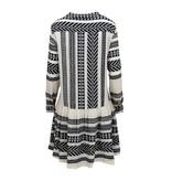 Devotion Mirah Kleid mit Print und Volant Black