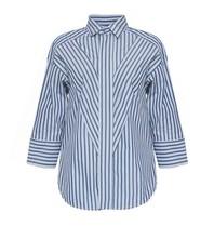 Britt Sisseck Britt Sisseck Bobo blouse gestreept grijs
