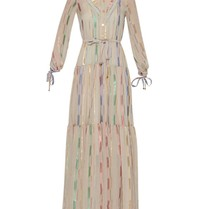 Britt Sisseck Britt Sisseck Isadora jurk nude multicolor