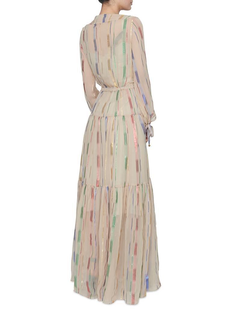 Britt Sisseck Britt Sisseck Isadora dress nude multicolor