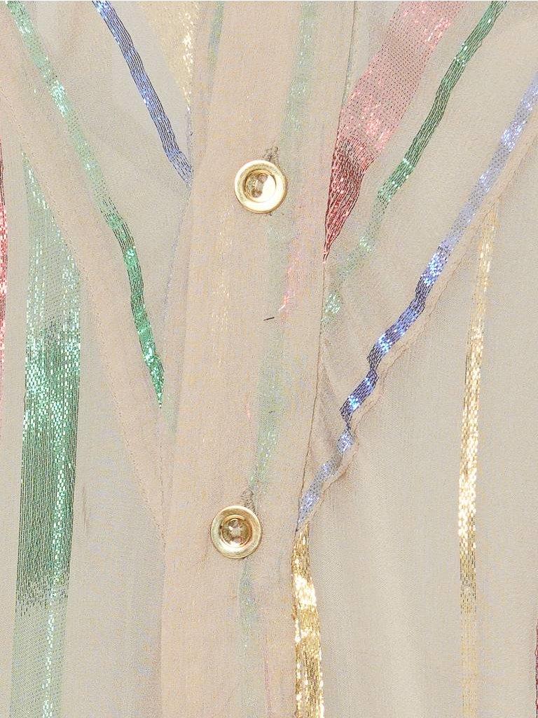 Britt Sisseck Isadora jurk nude multicolor