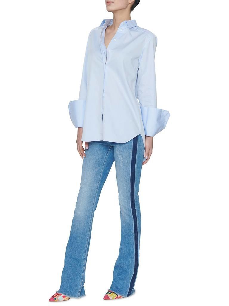 Britt Sisseck Bianca blouse lichtblauw