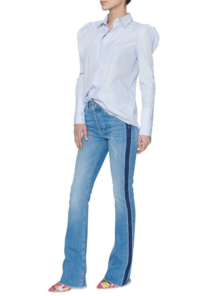 Britt Sisseck Alina blouse geruit blauw