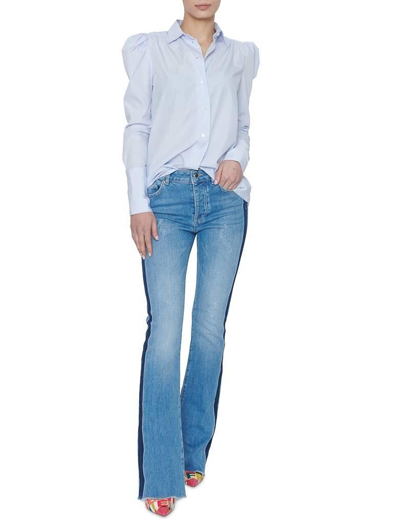 Britt Sisseck Britt Sisseck Alina blouse geruit blauw