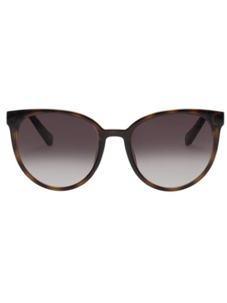Le Specs Le Specs Armada zonnebril schildpad print bruin
