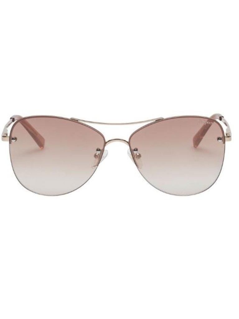 Le Specs Le Specs Fortifeyed zonnebril goud