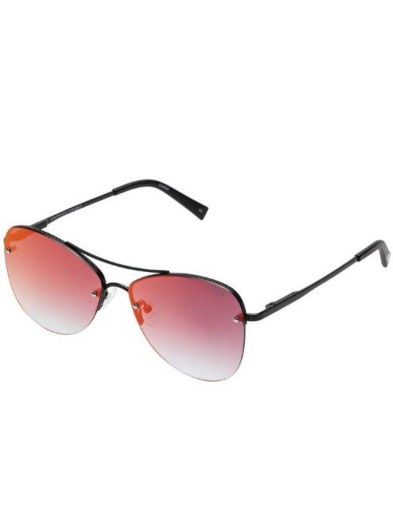 Le Specs Le Specs Fortifeyed zonnebril mat zwart
