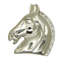 Godert.me Horse Pin Silber
