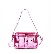 Núnoo Ellie Tasche transparent pink large