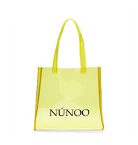Núnoo Shopper transparent gelb klein
