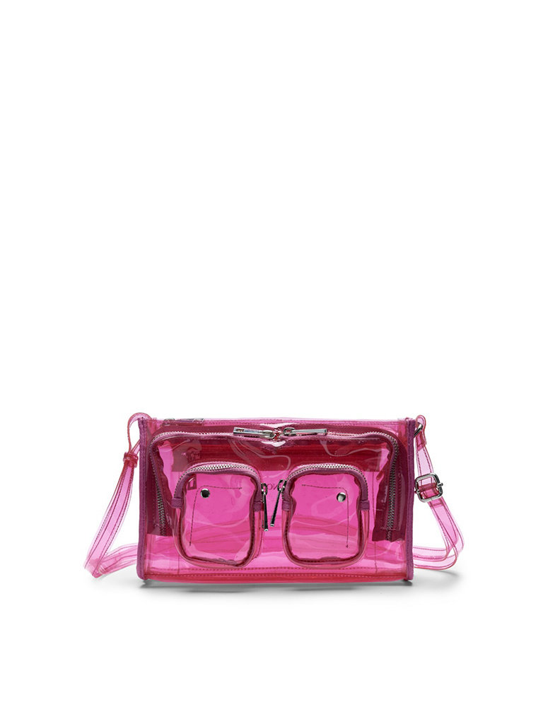 Núnoo Núnoo Stine Tasche transparent pink groß