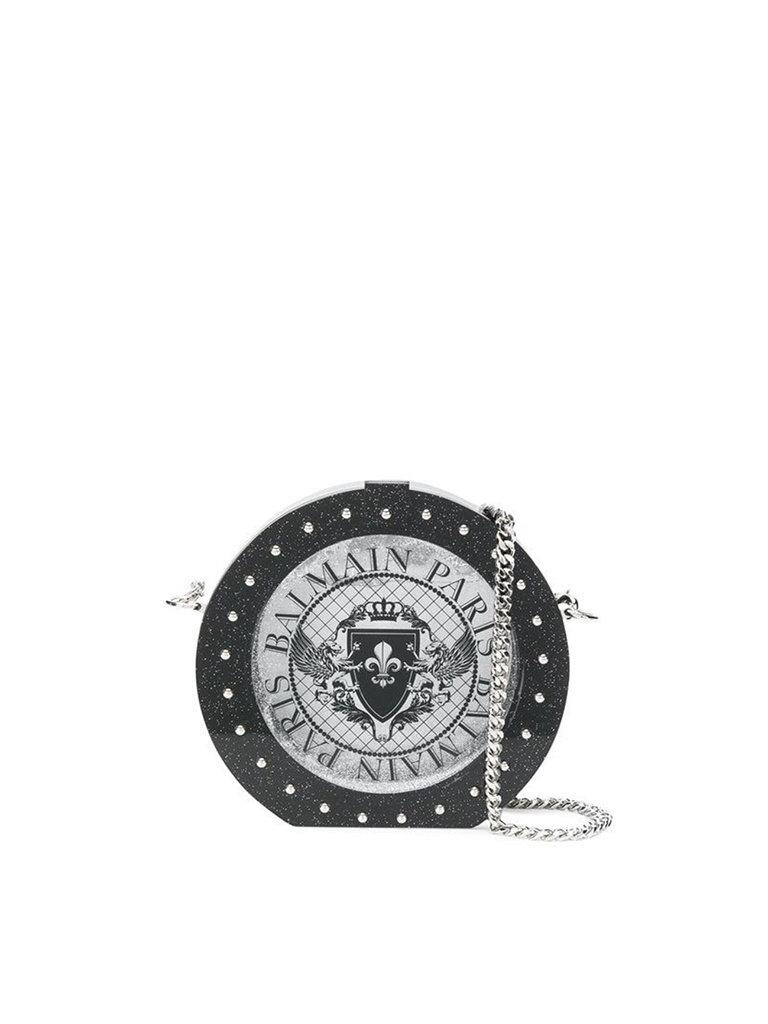 Balmain Balmain Mini bag with silver details