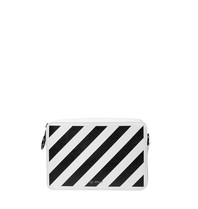 OFF-WHITE Diag  fanny pack wit