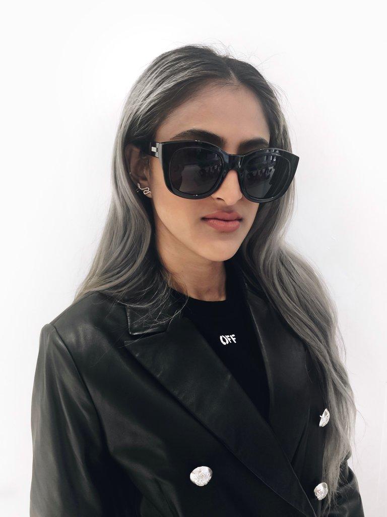 Le Specs Le Specs Runaways zonnebril zwart
