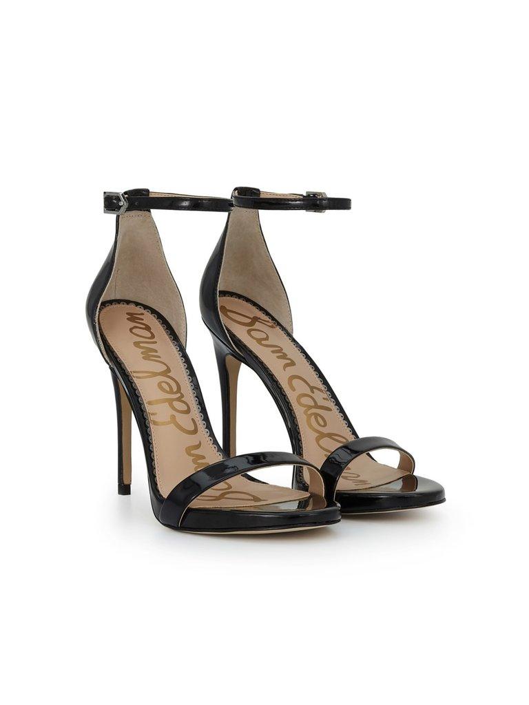 655d4af77aa6 Sam Edelman Ariella Ankle Strap sandal black - VLVT Online