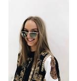 Le Specs Luxe Le Specs Sonnenbrille Luxus utopischen Gold