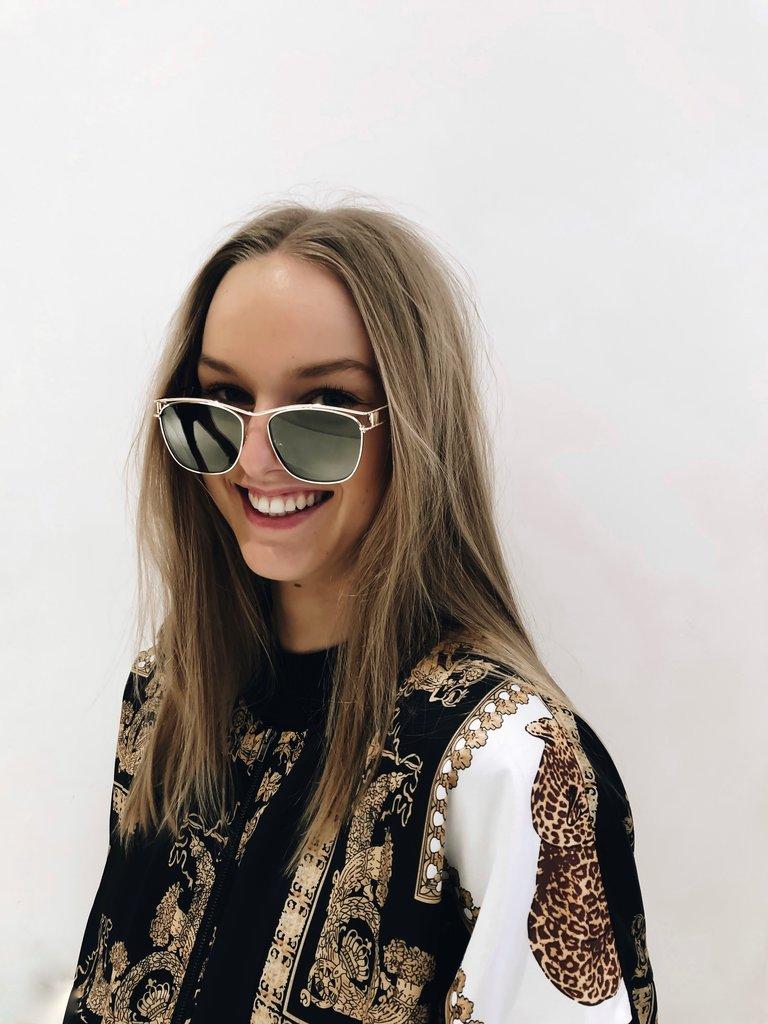 Le Specs Luxe Le Specs Luxury Utopian sunglasses gold