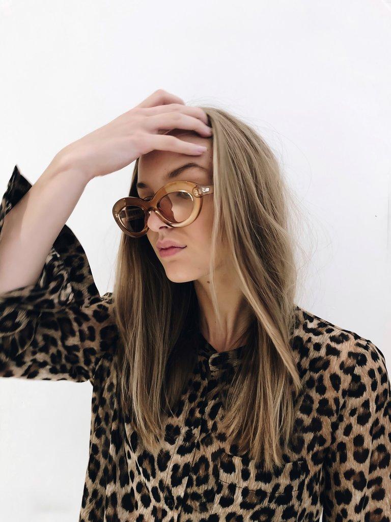 Le Specs Le Specs Fluxus bril Gold Shimmer