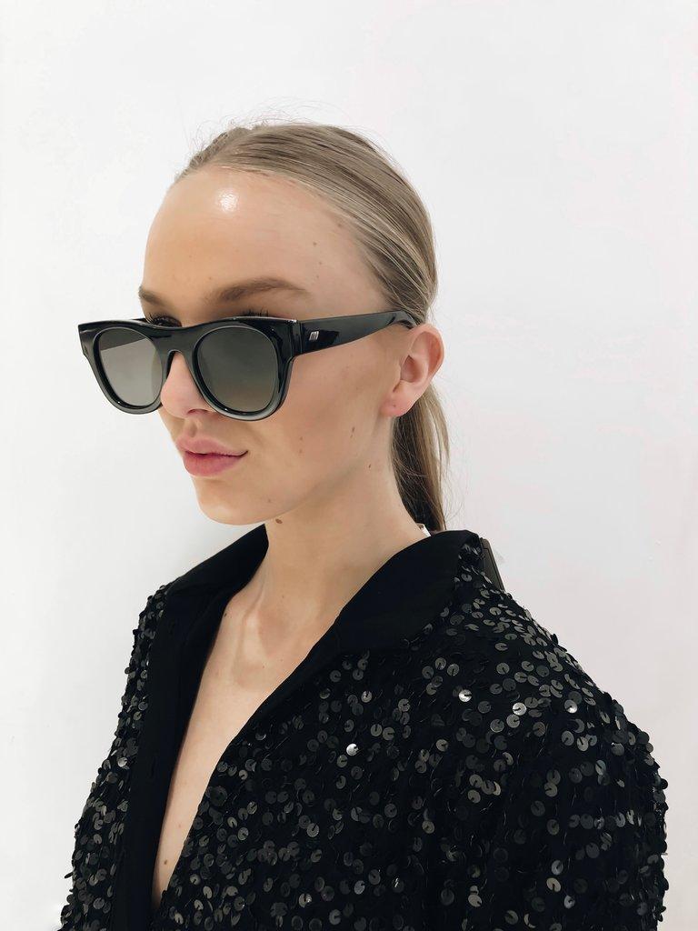 Le Specs Le Specs Arcadia zonnebril zwart
