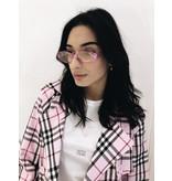Le Specs Le Specs Outta Love Brille rosa